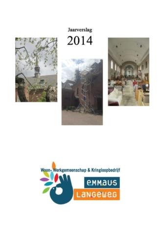 2014 Jaarverslag inhoudelijk