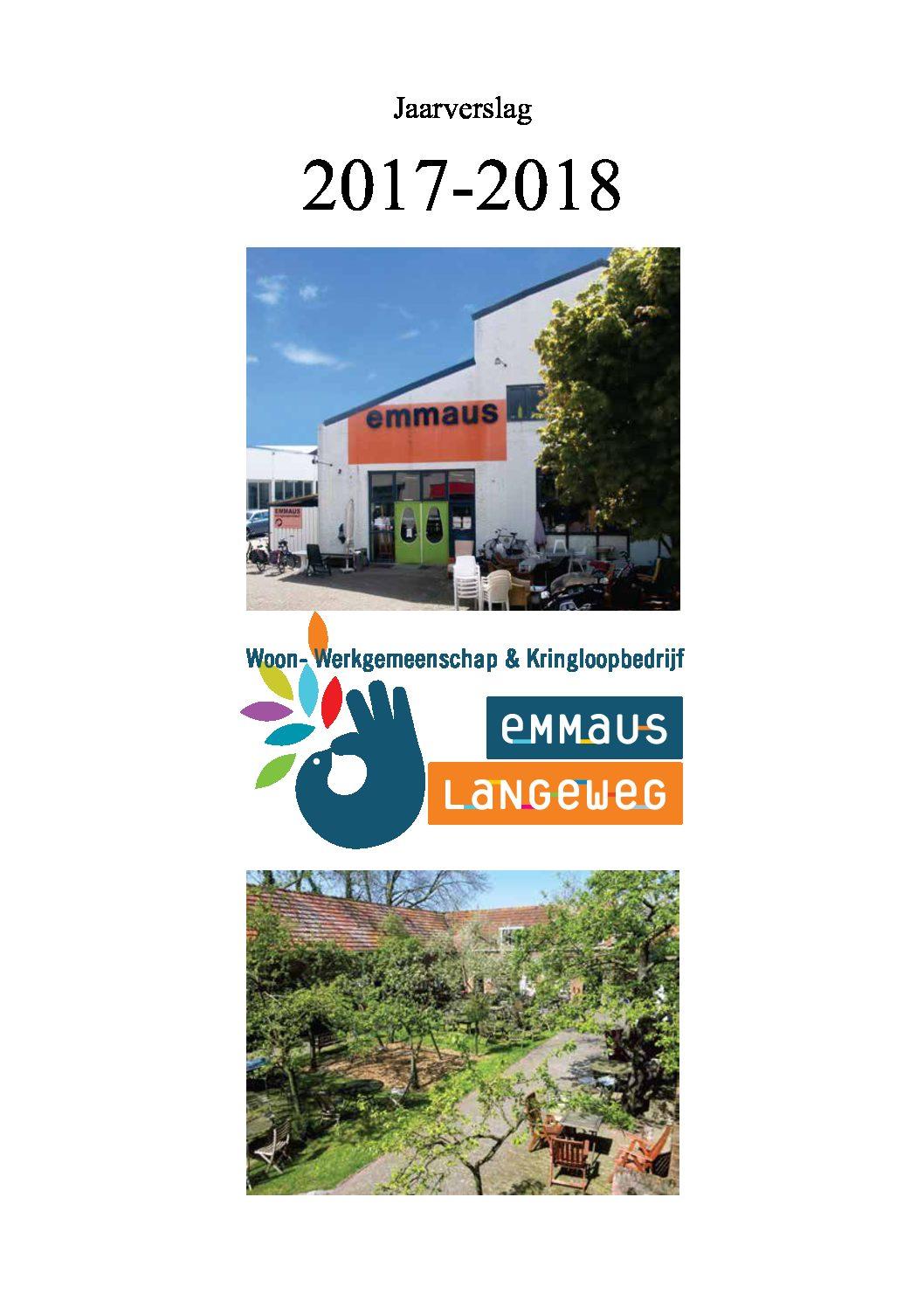2017-2018 Jaarverslag Inhoudelijk
