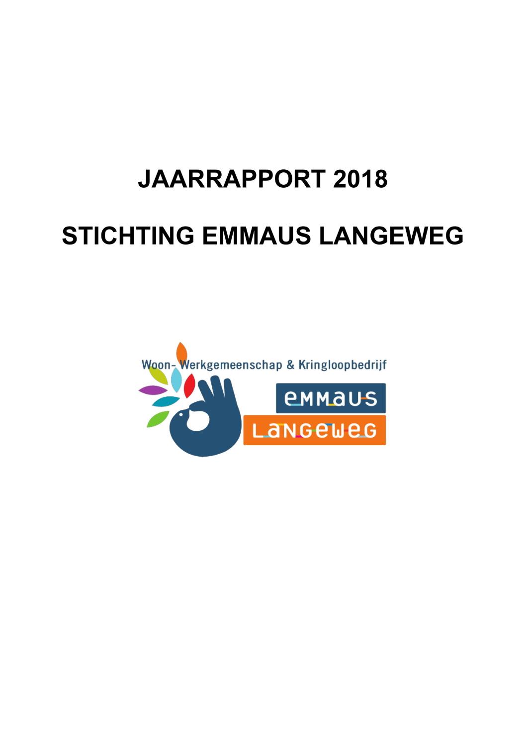 2018 Financieel jaarverslag